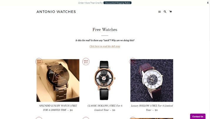 www.antoniowatches.com - Antonio Watches