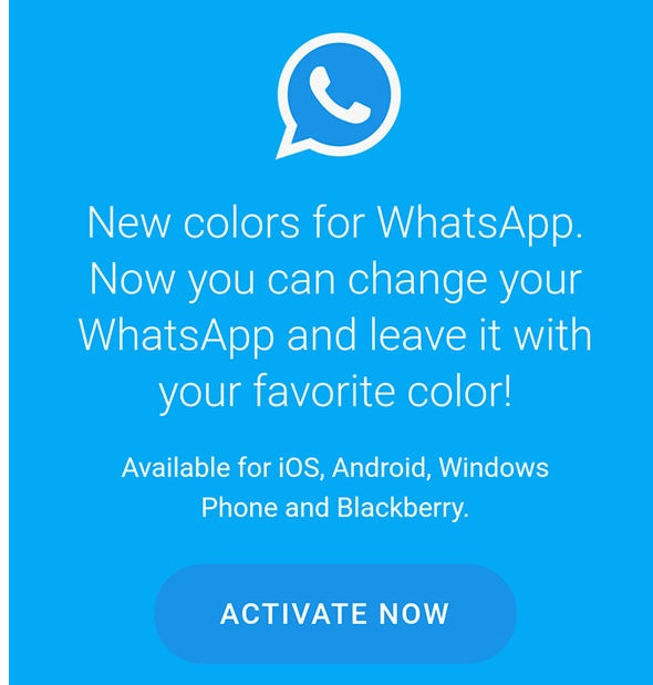 New Colors for WhatsApp
