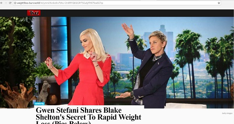 Gwen Stefani Shares Blake Shelton's Secret To Rapid Weight Loss - weight5loss-burn.world