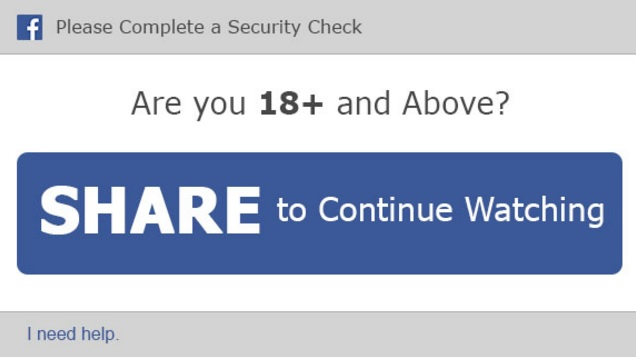 Are you 18+ and above - Complete a security check
