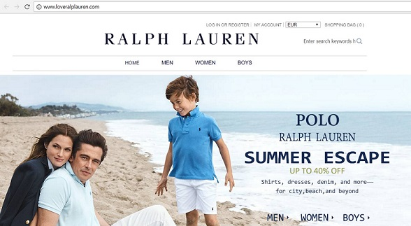 loveralplauren.com - A Fake Polo Ralph Lauren Clothing Website