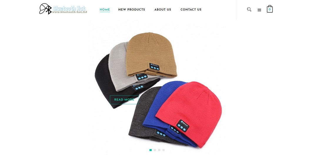 bluetooth-hat.ltd website