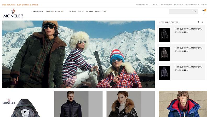 the Fake Moncler Website at www.monelove.com