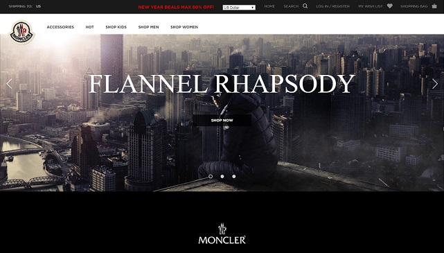 the Fake Moncler Website at www.monclerab.com