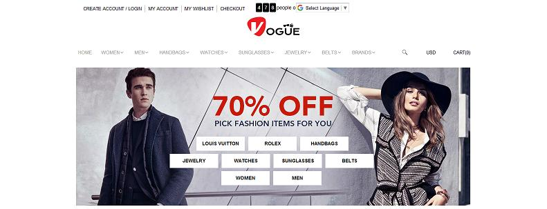 www.getinslives.com - Fashion Online Shopping Mall - Vogue