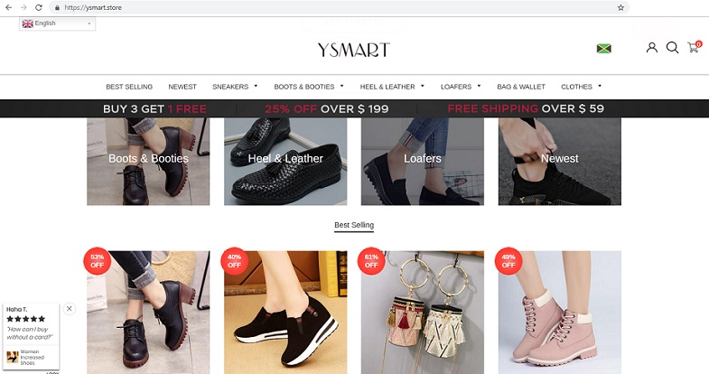 Ysmart Store at www.ysmart.store