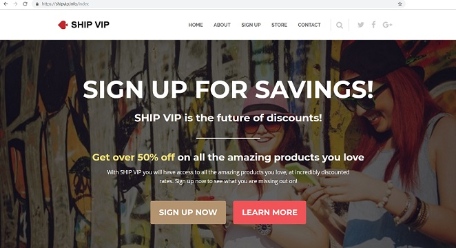 """Ship VIP"" located at www.shipvip.info"