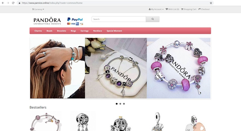 """Pandora Outlet Online"" Store at www.pannice.online"