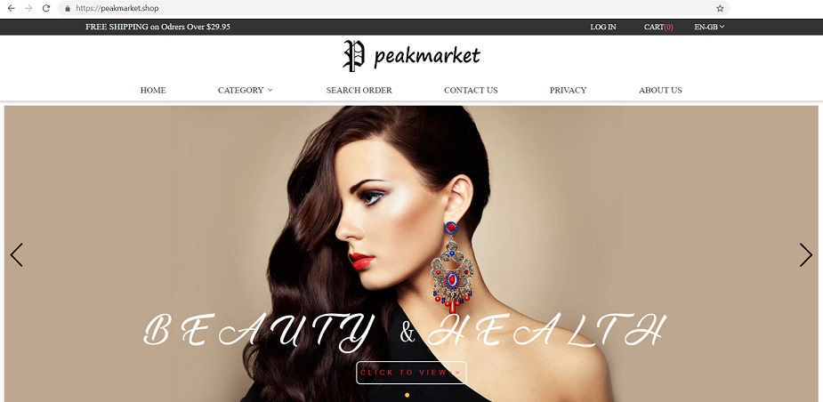 """Peakmarket Shop"" at www.peakmarket.shop"