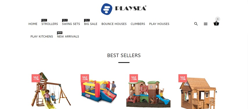 Play Sea website or online store at playsea.co.uk