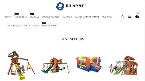 PlaySE Store or Patio Play Set website or online store at playse.co.uk
