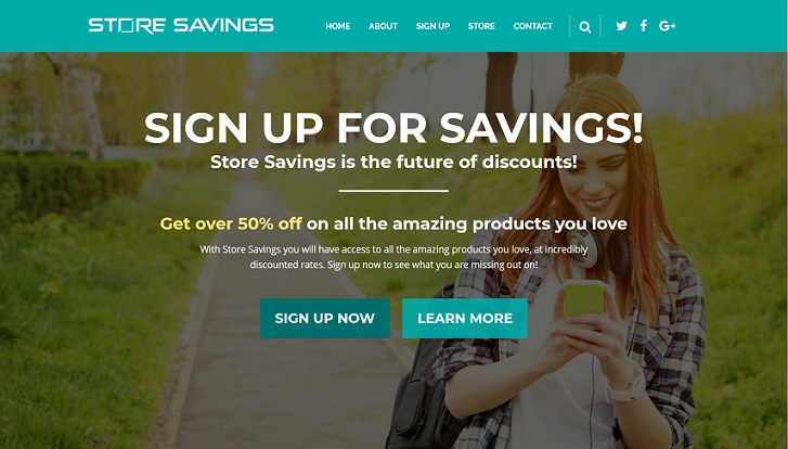 Store Savings at storesavings.info