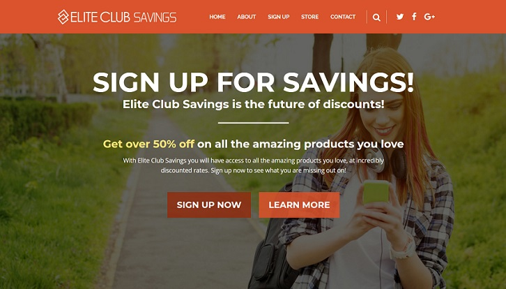 eliteclubsavings.info (Elite Club Savings)