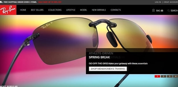 RayBan Sunglasse at www.rbcoco.com