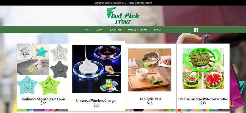 First Pick Store  at firstpickstore.club