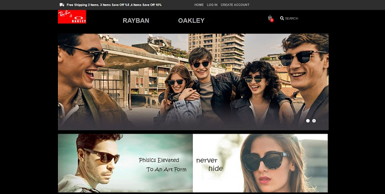 RayBan and Oakley Sunglasse at www.dmdbih.com