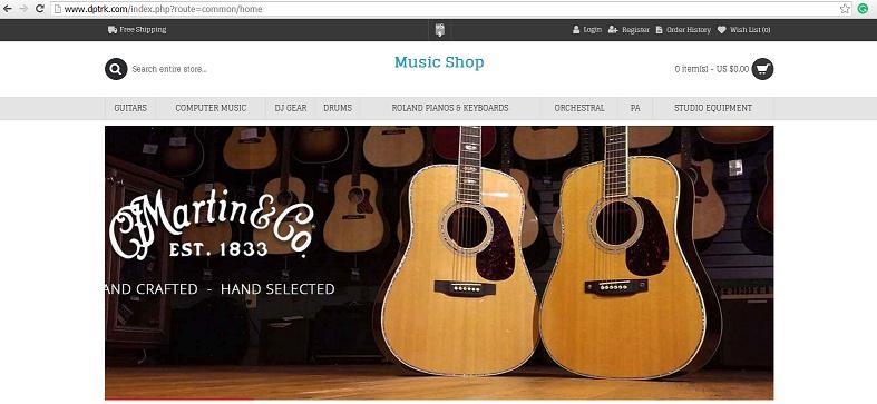 Dptrk at www dptrk com is an Untrustworthy Online Store