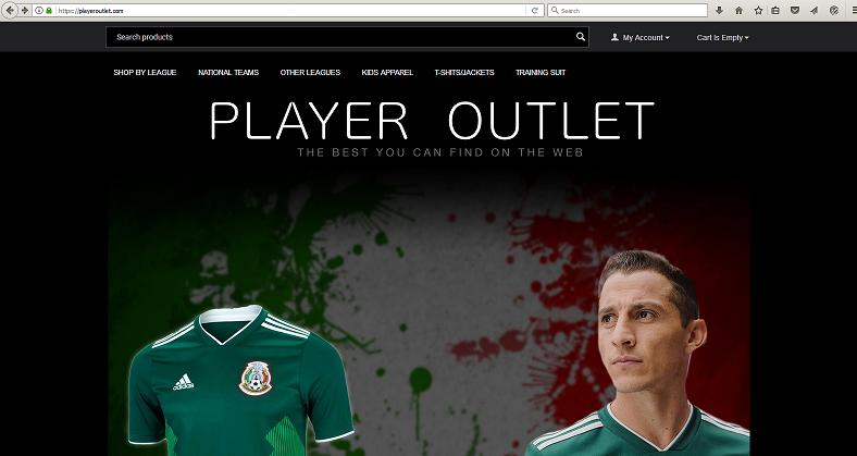 Player Outlet at playeroutlet.com
