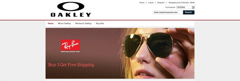 Bruce Eye Wear at www.bruceeyewear.online - Oakley and RayBan