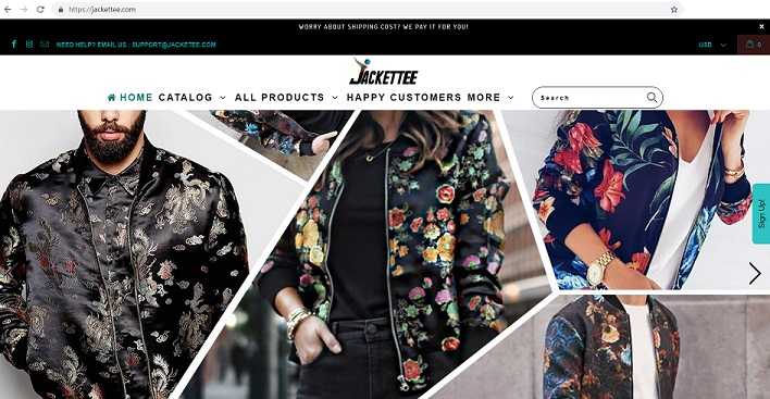 Jackettee Store at www.jacketee.com
