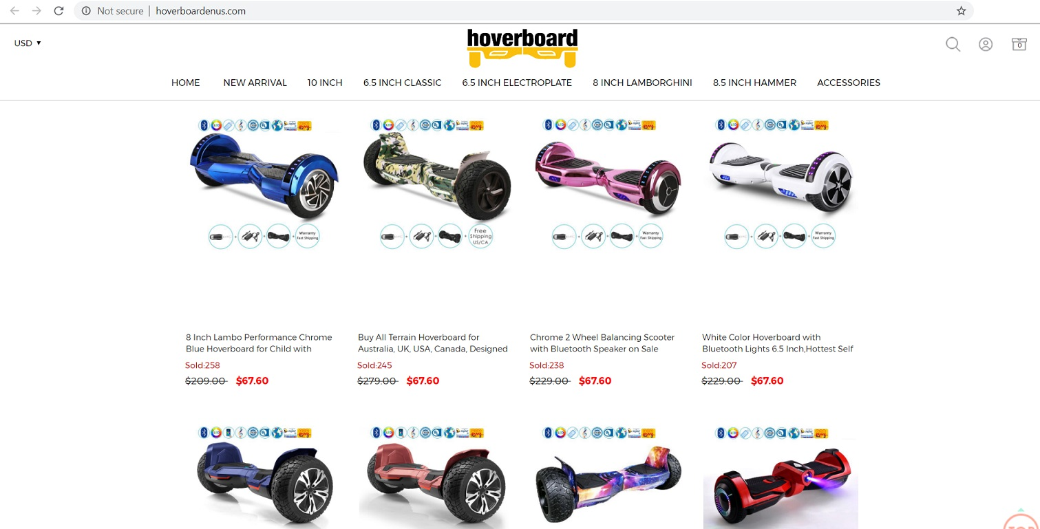 Hoverboardenus located at hoverboardenus.com