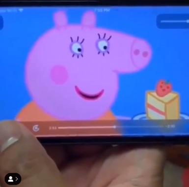 Peppa Pig Moma Challenge Video Clip