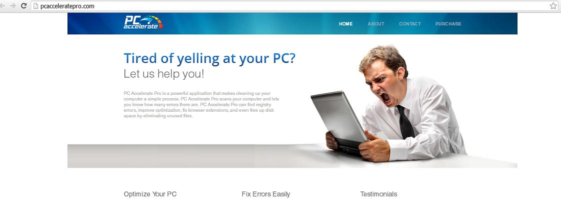 PC Accelerate Pro at www.pcacceleratepro.com