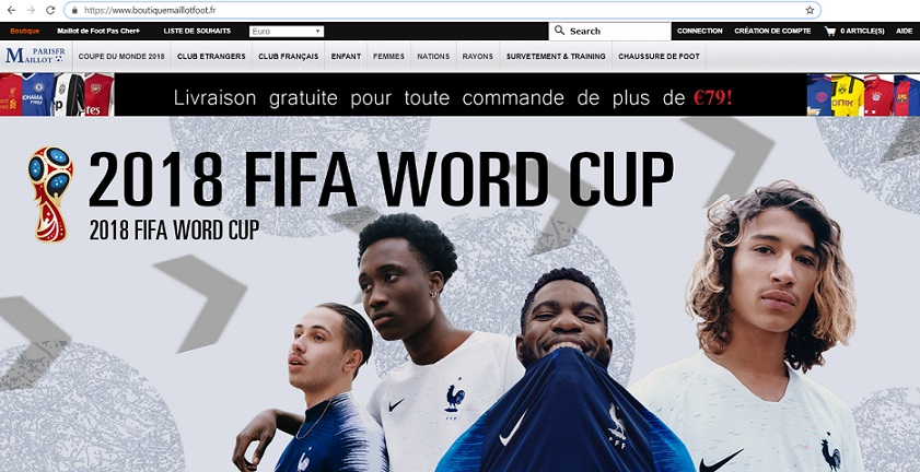 boutiquemaillotfoot.fr