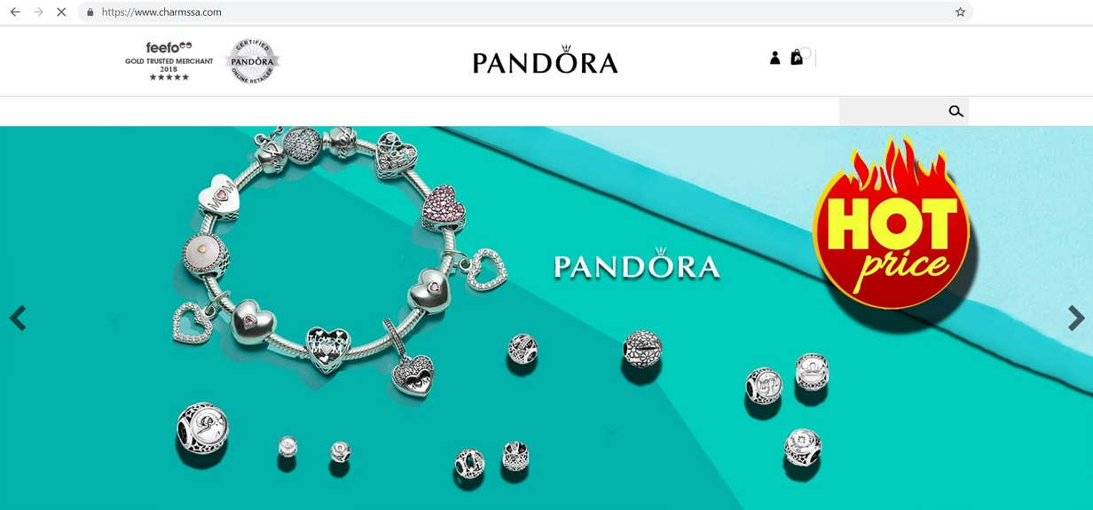 Pandora Outlet Store at www.charmssa.com