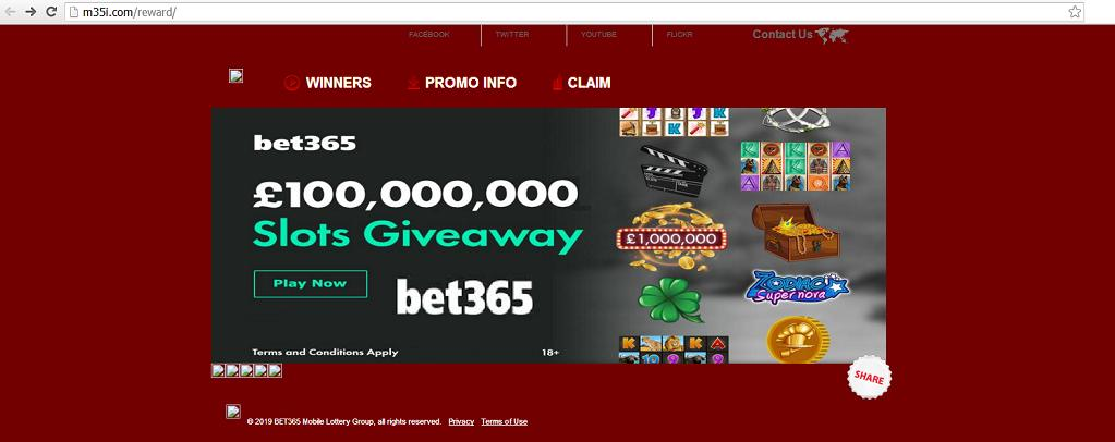 "The ""BET-365"" Website at m35i.com"