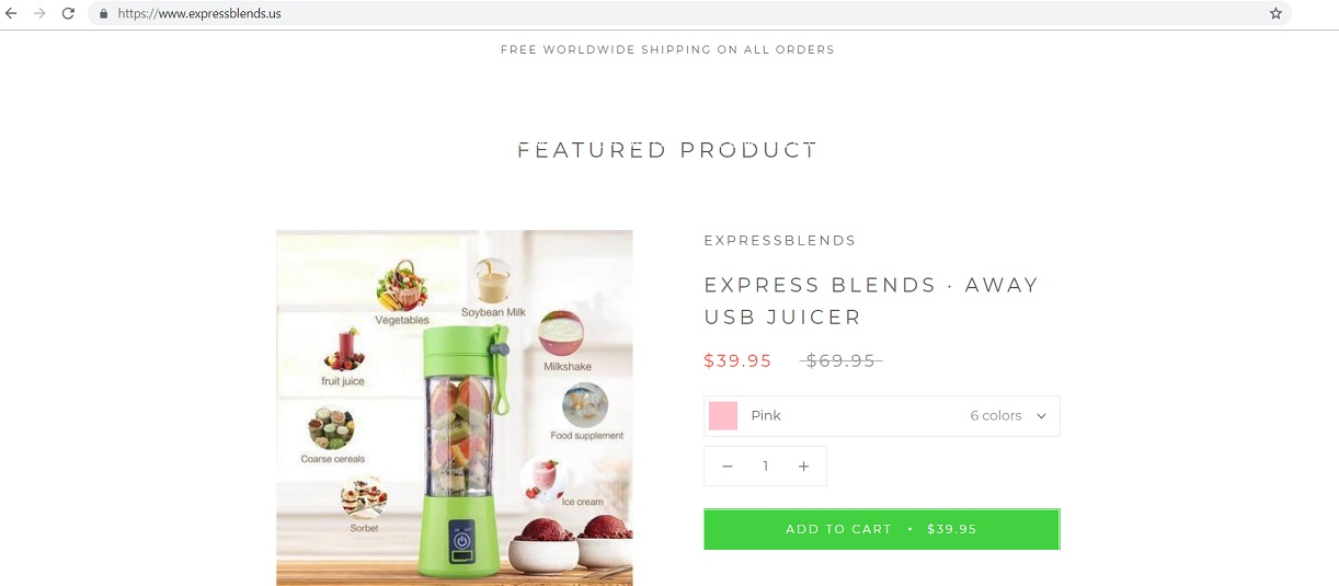 www.expressblends.us