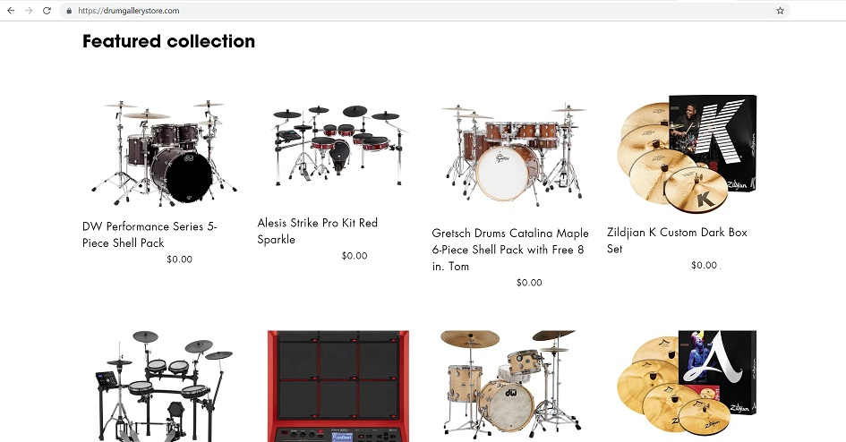 Drum Gallery Store at drumgallerystore.com