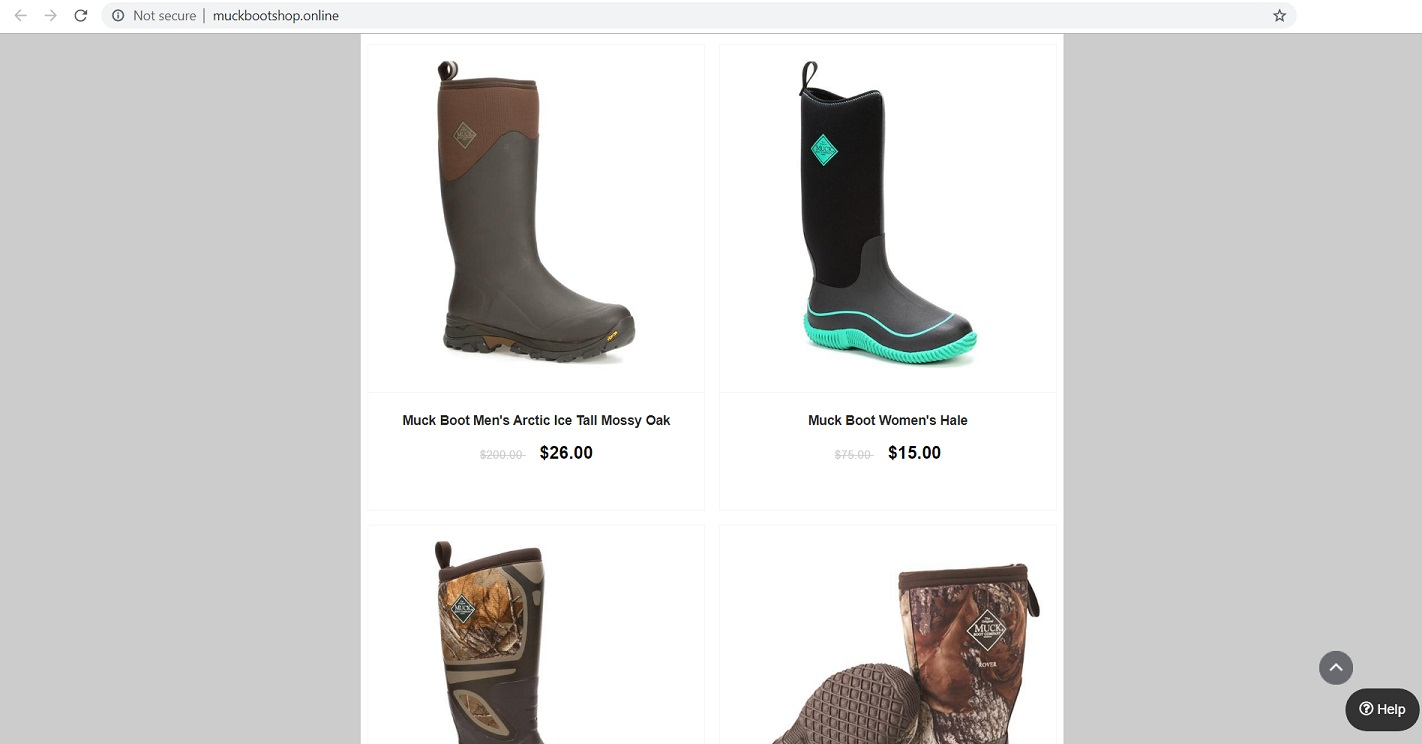 Fake Muck Boots