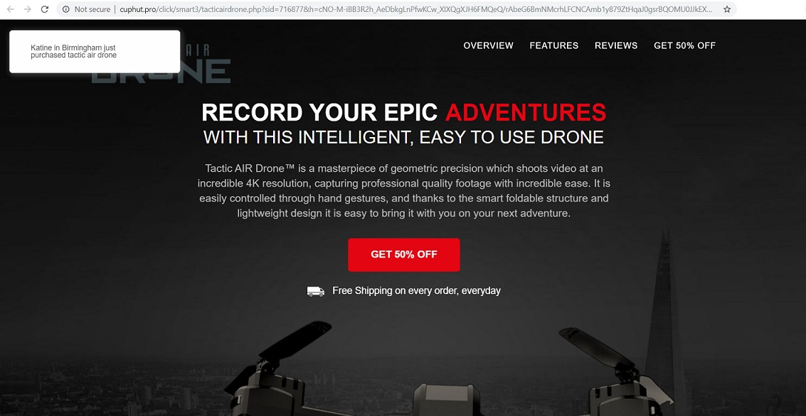 Tactic AIR 4K Drone for $99