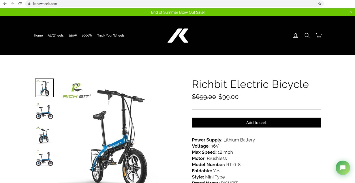 kanowheels.com - electric bike and bicycle