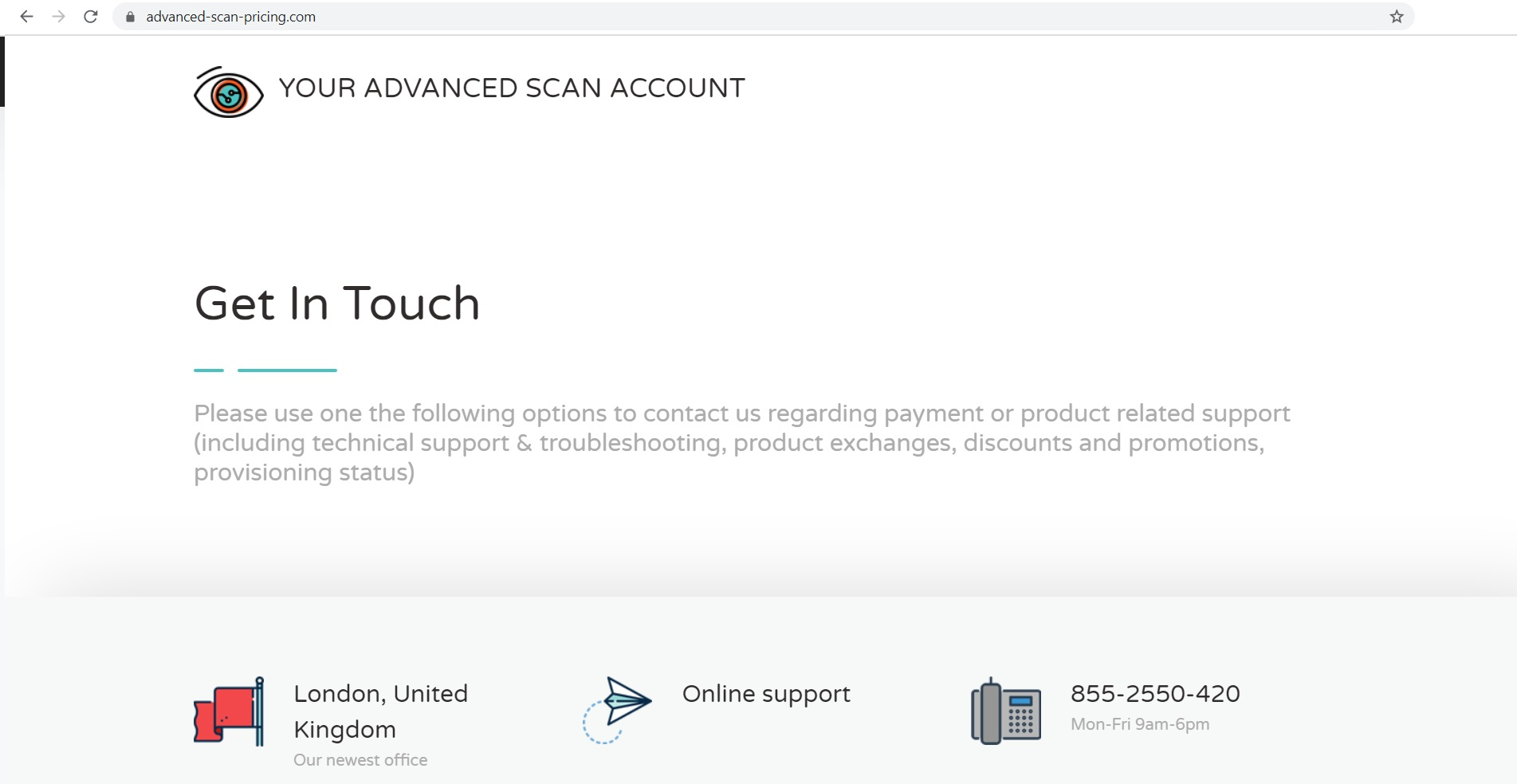 Advanced-scan-pricing.com