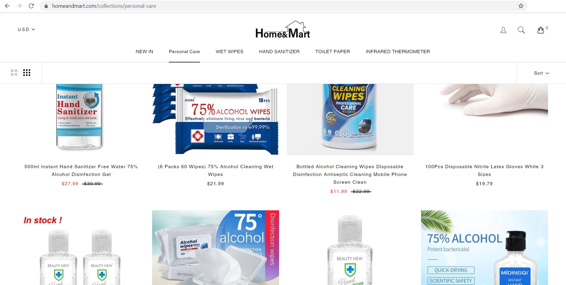 Home and Mart located at homeandmart.com