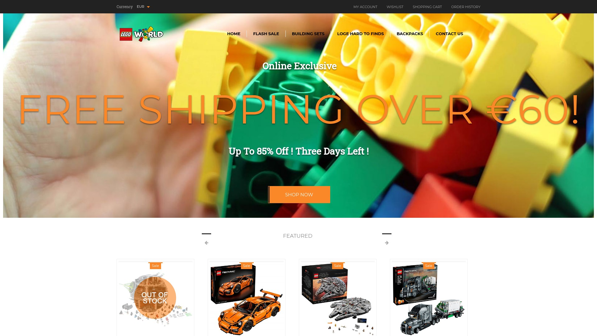 Pol.toyion.com is a Scam and Fake Lego Online Store