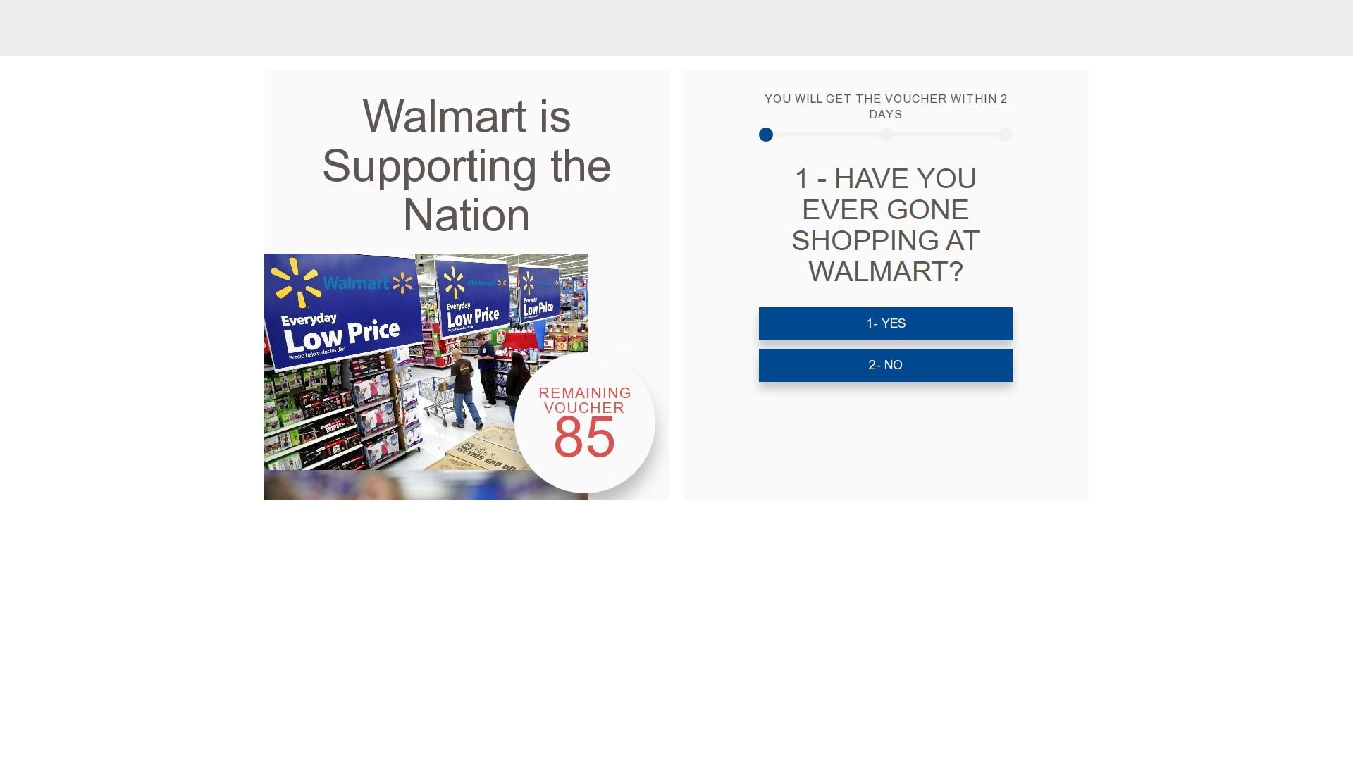 Walmart Free Coupon $250 Coronavirus Pandemic WhatsApp Scam