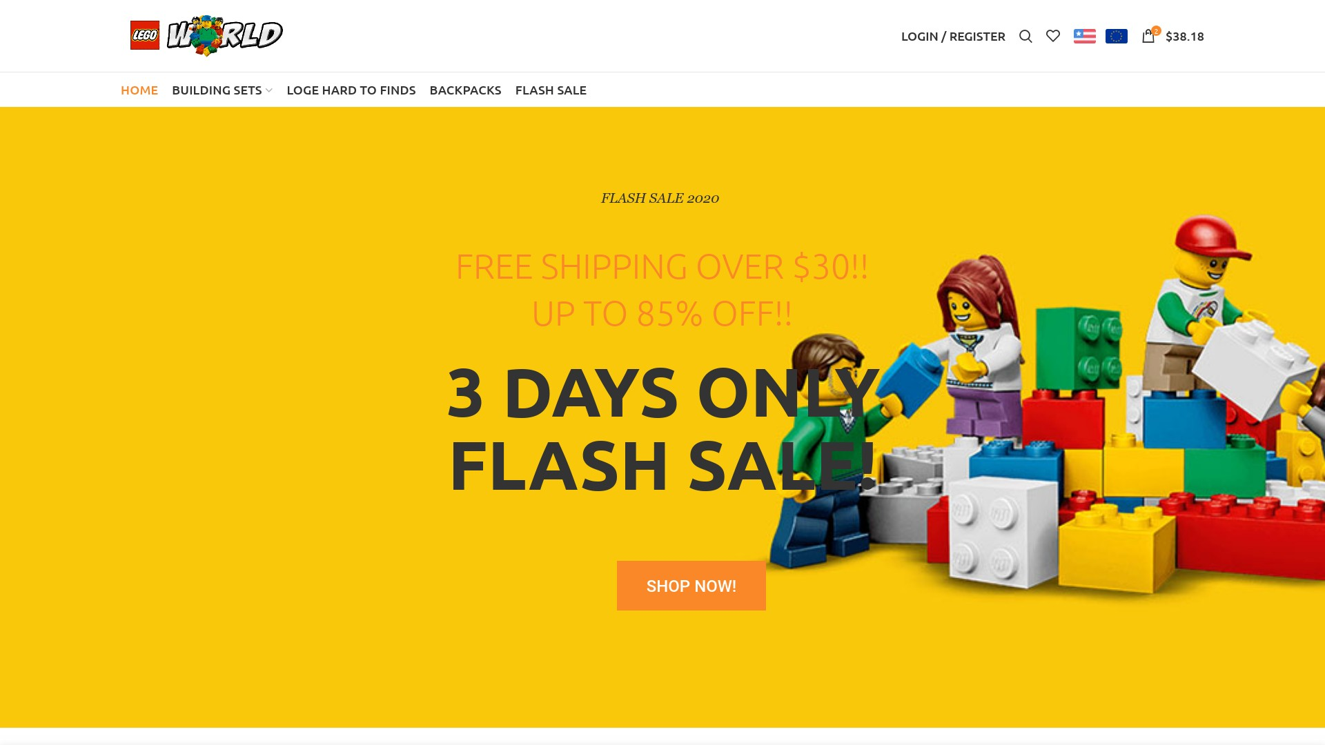 Is Lego Mall Shop a Scam? See the Review of the Online Store