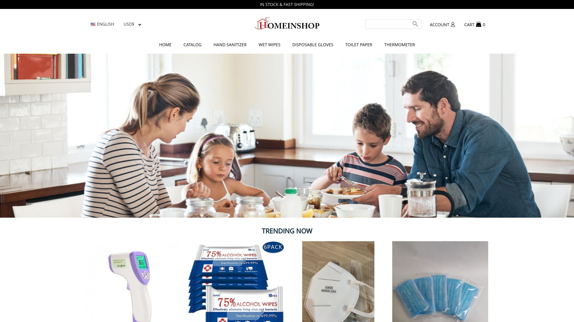 Is Homeinshop a Scam? See the Review of the Online Store