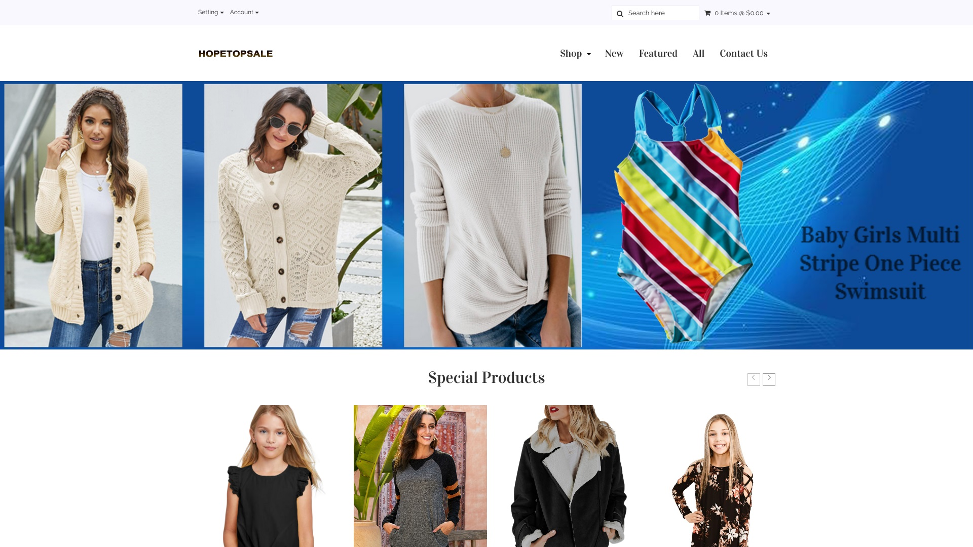 Is Hopetopsale a Scam? See the Review of the Online Store