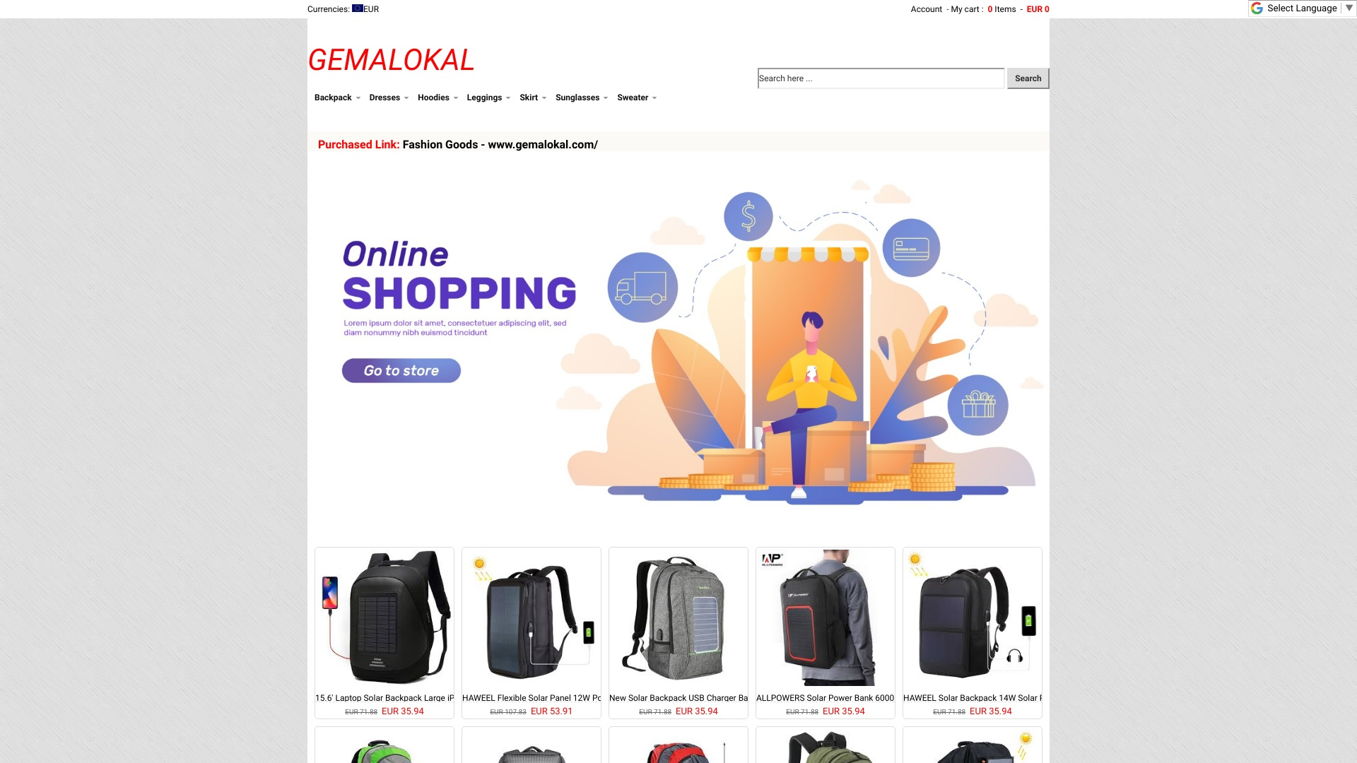 Is Gemalokal a Scam? See the Review of the Apparel Store