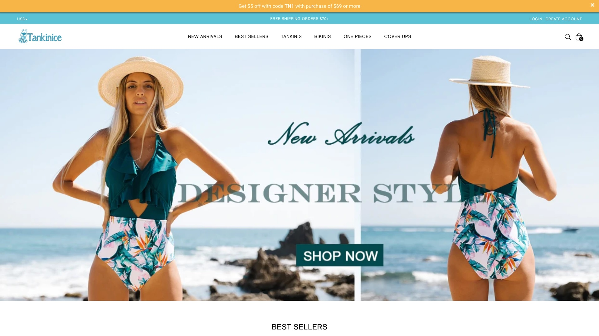 Is Tankinice a Scam? See the Review of the Swimsuit Store