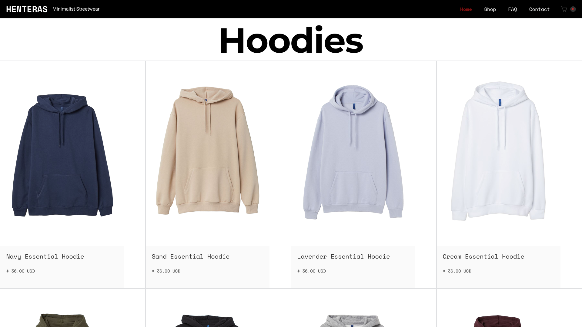 Is Henteras.net a Scam? See the Review of the Hoodie Store