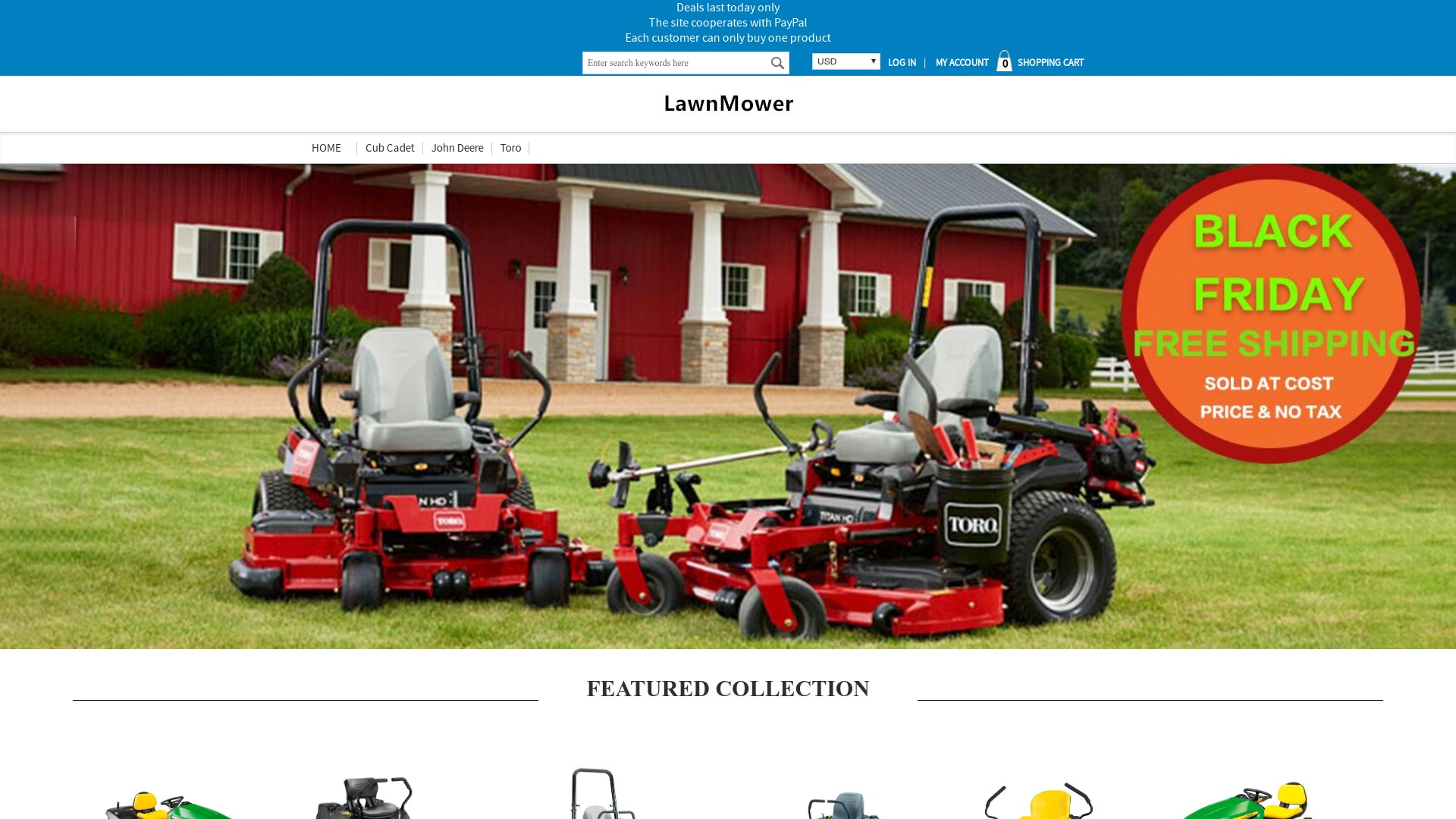 Is Nitenm.com a Scam? See the Review of the Lawnmower Store