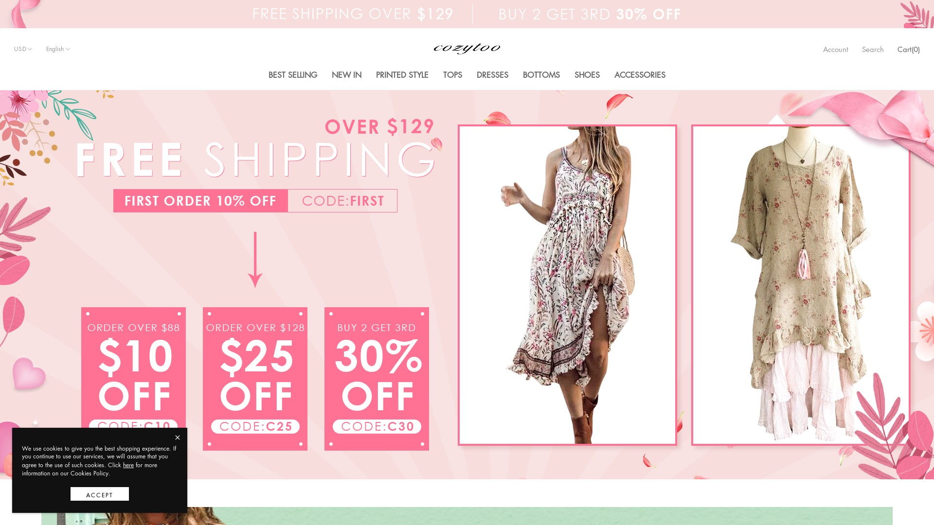 Is Cozytoo a Scam? See the Review of the Apparel Store