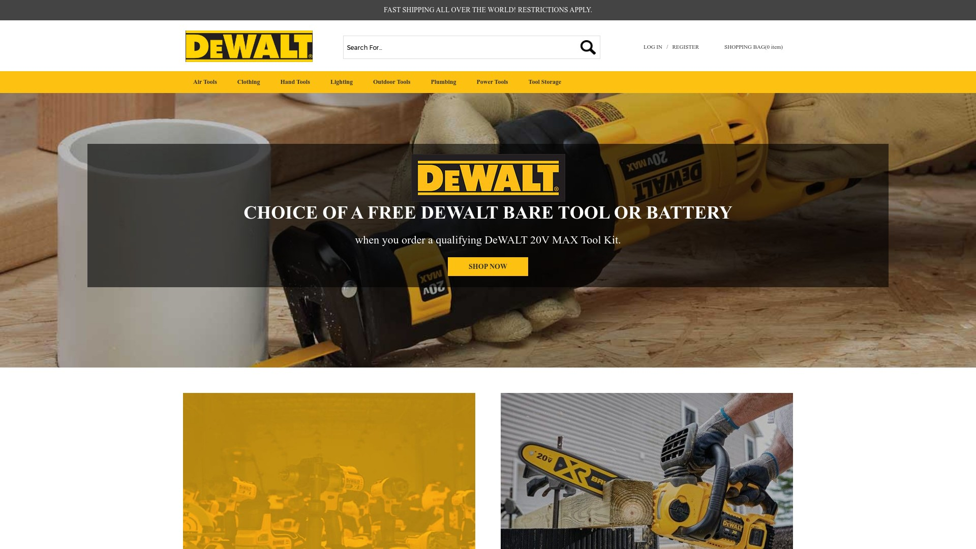 Dewcewio.com Reviews  The Fake Hand, Air and Power Tool Online Store
