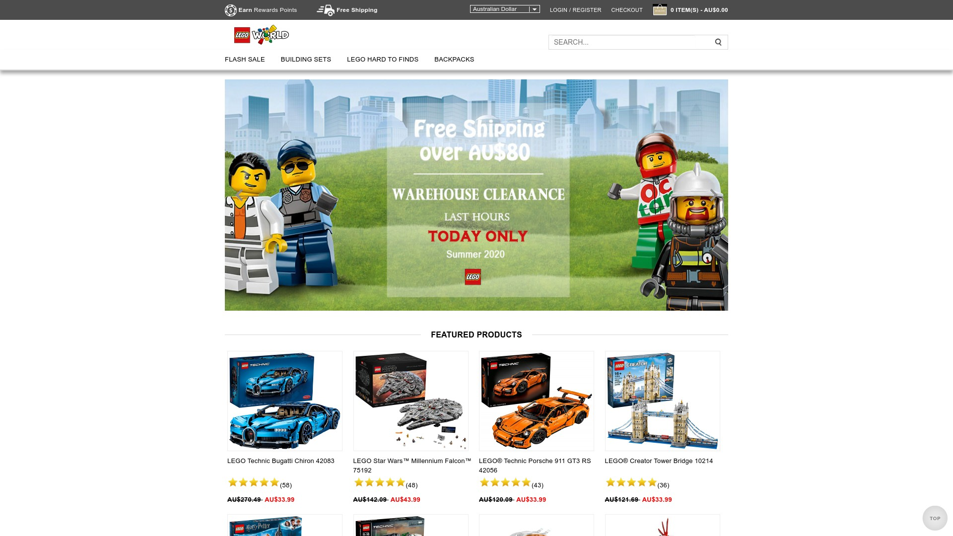 Is aust.itoypro.com a Scam Lego Online Store?