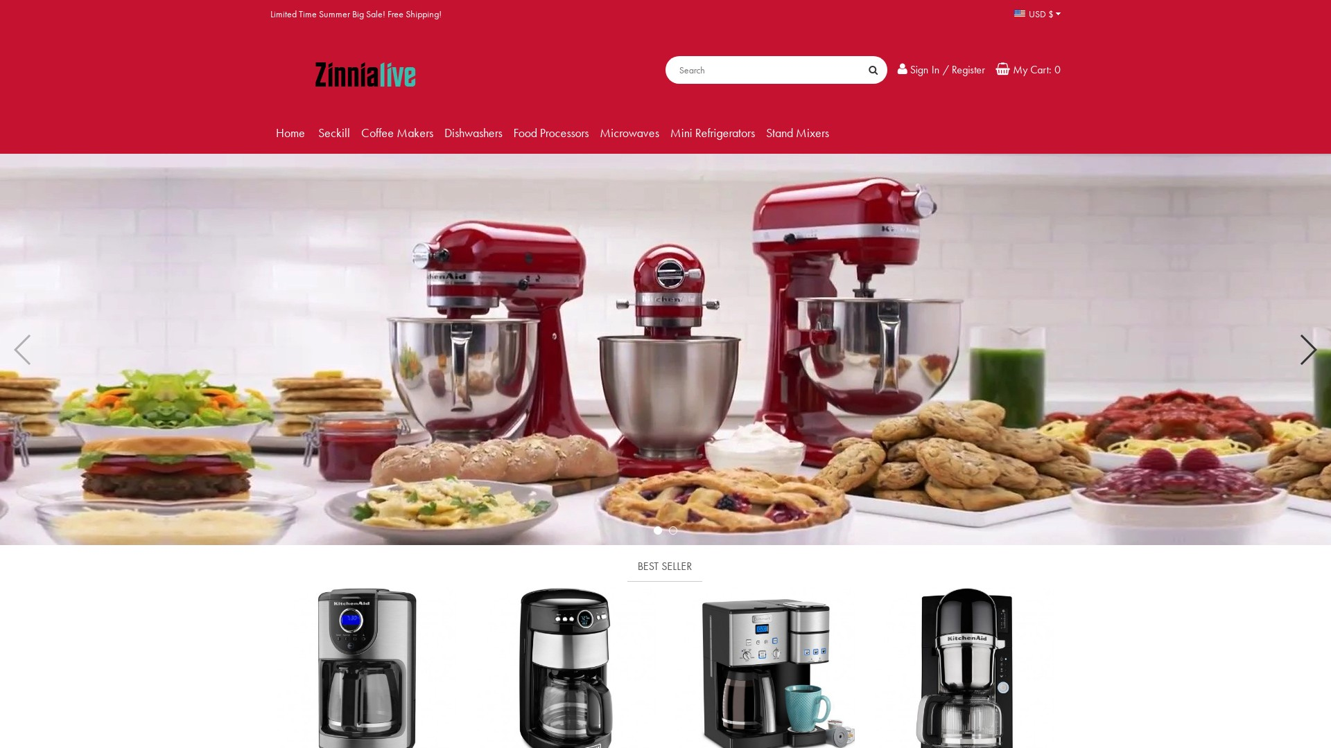 Is Zinnialive.com a Scam? Review of the Kitchen Store